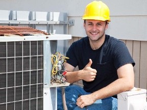HVAC Installed - Air Conditioner Installation